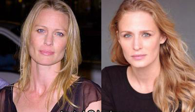 Robin Wright Penn and Samantha Smith